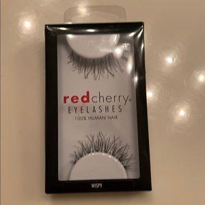 Great add on item! Red cherry eyelashes